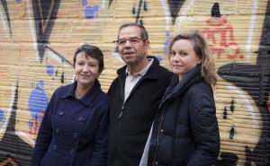 Catherine Denis, Hammoud Zouaghi et Marilou Brossier